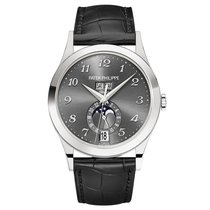 Patek Philippe Annual Calendar White gold 38.5mm Grey Arabic numerals