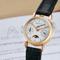 Tiffany & Co. | A Fine Pink Gold Perpetual Calendar Minute...