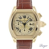 Cartier Roadster Chrono XL Yellow gold