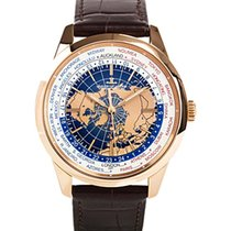 Jaeger-LeCoultre 41.6mm Automatic 2019 new Geophysic Universal Time Blue