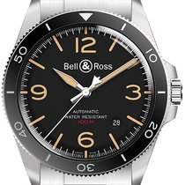 Bell & Ross BR V2 Steel 41mm Black United States of America, New York, Airmont