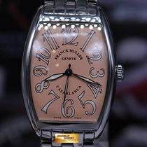 Franck Muller Steel Automatic Pink Arabic numerals 30.5mm pre-owned Casablanca