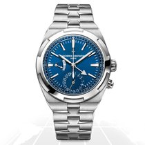 Vacheron Constantin Overseas Dual Time Steel 41mm Blue No numerals