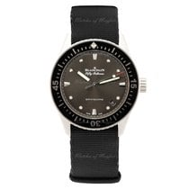 Blancpain Fifty Fathoms Bathyscaphe Steel 38mm Grey United Kingdom, London