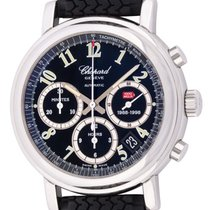Chopard Chronograph 39mm Automatic 1998 pre-owned Mille Miglia Black