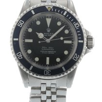 Rolex Submariner 5512 Watch with Stainless Steel Bracelet and...