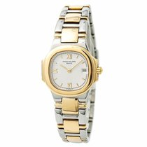 Patek Philippe Nautilus 4700/51 Womens Quartz Watch Two Tone...