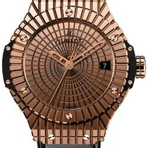 Hublot Big Bang Caviar Rose gold 41mm Gold No numerals United States of America, New York, Greenvale