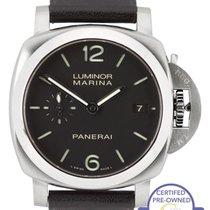 Panerai Luminor Marina 1950 PAM 392 42mm Black Stainless...