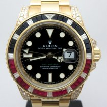 Rolex 116758SARU Or jaune 2009 GMT-Master II 40mm occasion