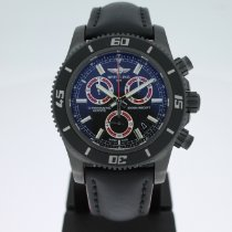 Breitling Superocean Chronograph M2000 Acero 46mm Negro Sin cifras