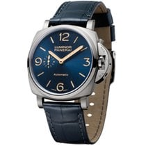 Panerai Luminor Due Titanium 45mm Blue Arabic numerals United States of America, New York, New York