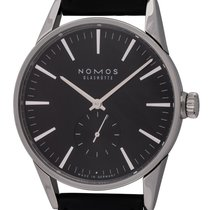NOMOS Zürich Steel 40mm Black United States of America, Texas, Austin