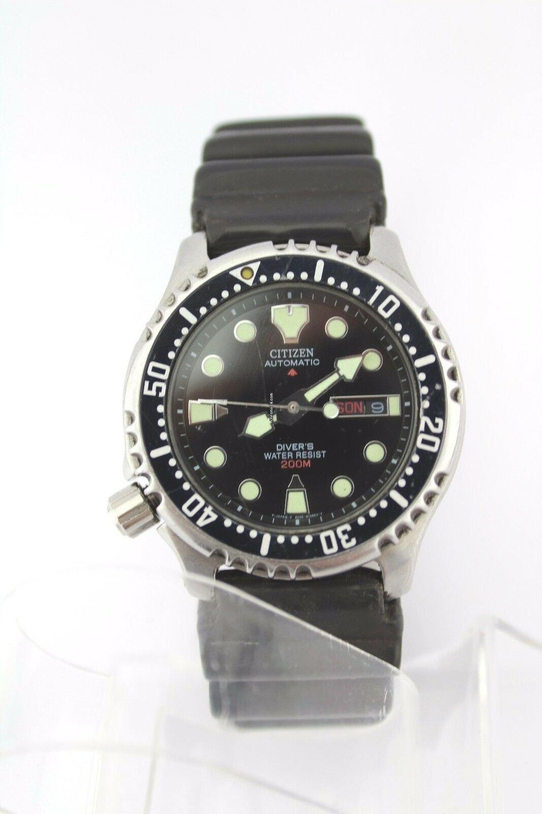 finest selection 471f8 1a6b5 Citizen Automatic Diver Cal.8203 a watch Uhr Armbanduhr ...
