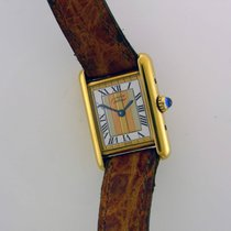 Cartier Tank Vermeil 20mm Gold Roman numerals United Kingdom, London