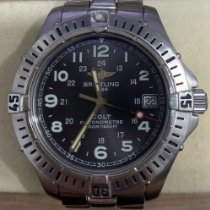 Breitling Steel 38mm Quartz A74350 pre-owned