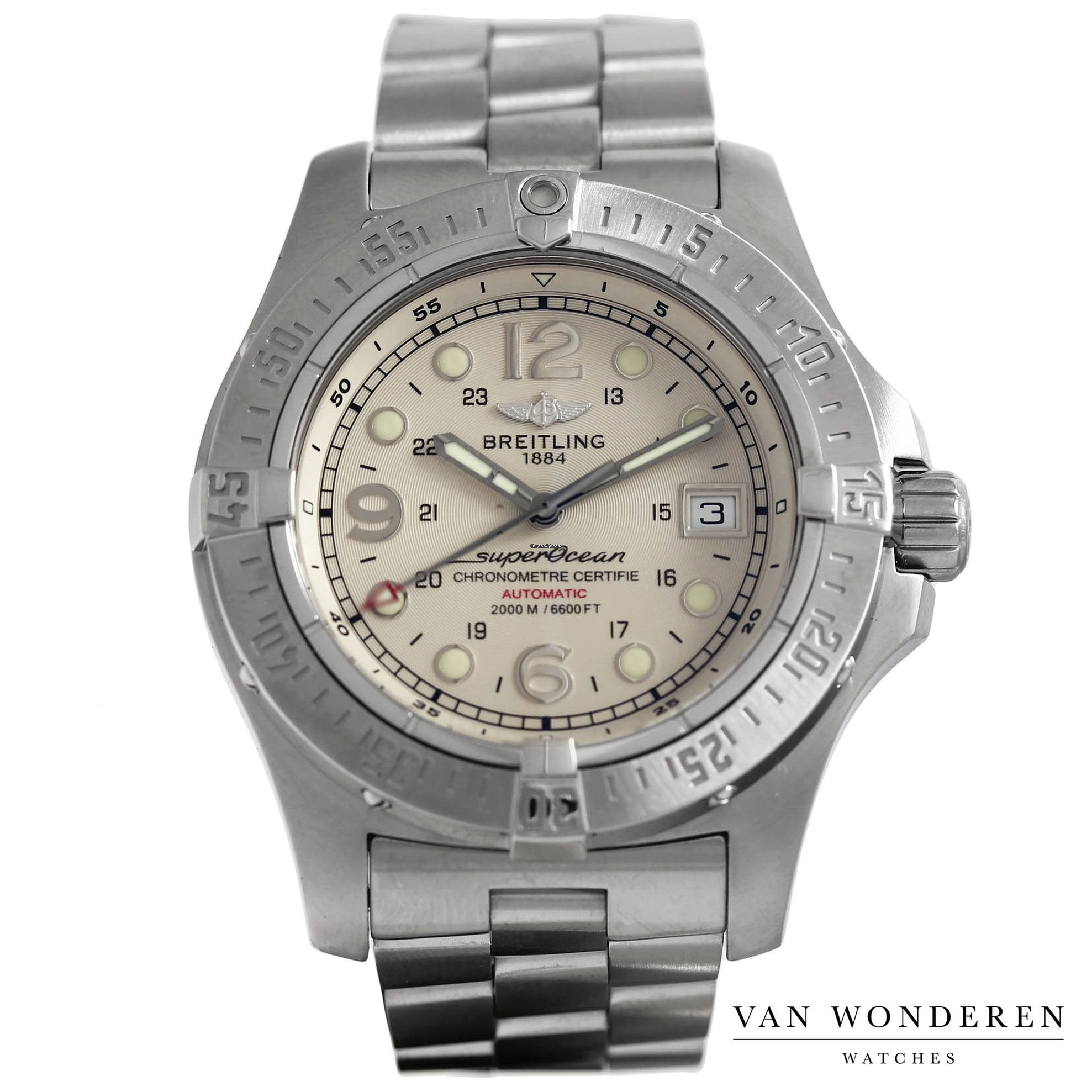 new product b8d94 59aa1 Breitling Superocean Steelfish A17390 for $2,492 for sale ...