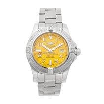 Breitling Avenger II Seawolf Steel 45mm Yellow Arabic numerals United States of America, Pennsylvania, Bala Cynwyd