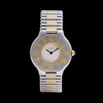 Cartier Gold/Stahl 31mm Quarz (RO 4065) gebraucht