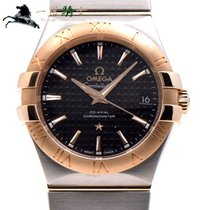 Omega Constellation Ladies 35mm Black