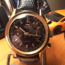 Waltham Acero y oro 37.5mm Cuerda manual Waltham Swiss Chronograph usados
