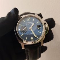 Panerai Luminor Marina Stahl 40mm Blau