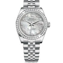 Rolex Lady-Datejust Gold/Steel 31mm Mother of pearl Roman numerals South Africa, Johannesburg