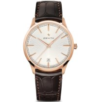 Zenith Rose gold Automatic Silver No numerals 40.5mm new