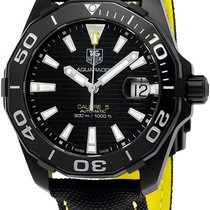 TAG Heuer Titanium Automatic Black new Aquaracer 300M