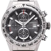 TAG Heuer Carrera Calibre HEUER 01 new 2018 Automatic Chronograph Watch with original box and original papers CAR208Z.BF0719