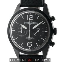 Bell & Ross Aviation Chronograph PVD Coated Stainless...