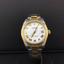 Rolex Datejust 31mm 2 Tone Steel & 18k Yellow Gold White...