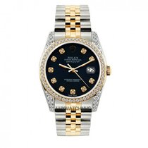 Rolex Datejust Men's 36mm Blue Dial Stainless Steel Bracelet