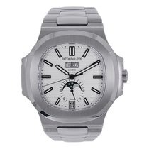 Patek Philippe Nautilus 5726A Stainless Steel  Whte Dial Watch