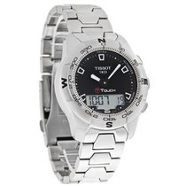 Tissot T-Touch II Mens Digital Swiss Quartz Watch T047.420.11....