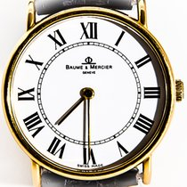 Baume & Mercier Classic Design Dress Watch 18K Gold 35118