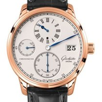 Glashütte Original Senator Chronometer Regulator Rose gold 42mm Silver Roman numerals