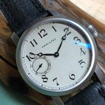 Hamilton Pilot's Vintage Pocket Watch Conversion Calibre 921