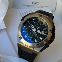 IWC Ingenieur Double Chronograph Titanium Titanium 46mm Black No numerals United States of America, California, Los Angeles