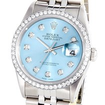 Rolex 36mm Automatic pre-owned Datejust (Submodel) Blue