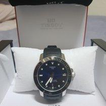 티쏘T-Touch Expert Solar,새 시계/미 사용,정품 박스 있음, 서류 원본 있음,43 mm,스틸