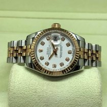 Rolex Lady-Datejust Gold/Steel 26mm White Singapore, Singapore