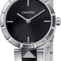 ck Calvin Klein Steel 30mm Quartz K5T33C41 new