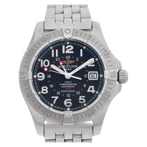 Breitling Colt GMT A32350 Stainless Steel Blue dial 40mm...