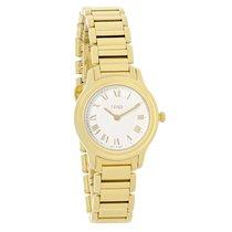 Fendi Classico Series Ladies Gold Tone Swiss Quartz Watch...