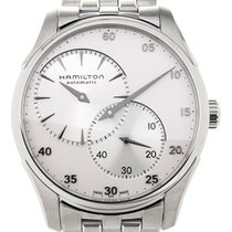 Hamilton Jazzmaster Regulator Steel 42mm Silver