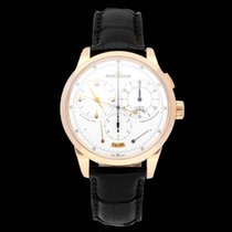 Jaeger-LeCoultre Chronograph 42mm Manual winding 2015 pre-owned Duomètre Silver