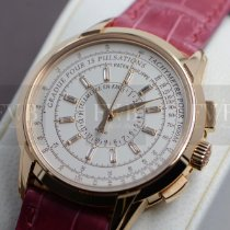 Patek Philippe Rose gold Automatic Silver No numerals 38mm pre-owned Chronograph