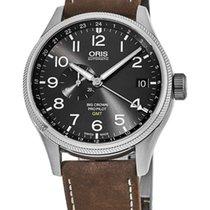 Oris Big Crown ProPilot GMT Steel Grey Arabic numerals United States of America, New York, Brooklyn