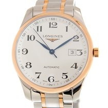 Longines Master Collection L2.893.5.79.7 New Gold/Steel 42mm Automatic